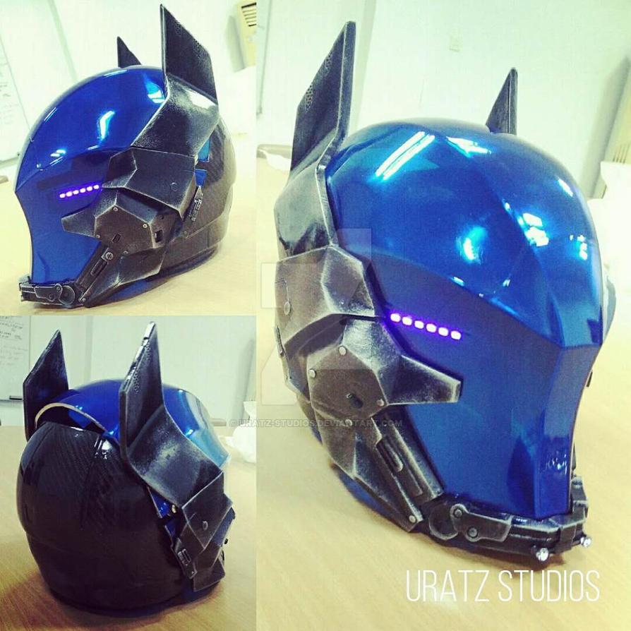 Arkham Knight Helmet by Uratz-Studios