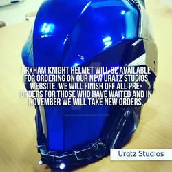 Arkham Knight Helmet annoucement
