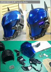 Arkham Knight Helmet Done!