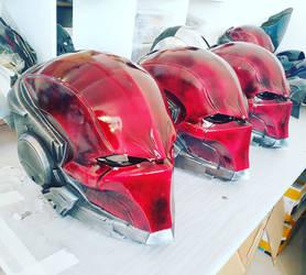 Red Hood G3 Helmet