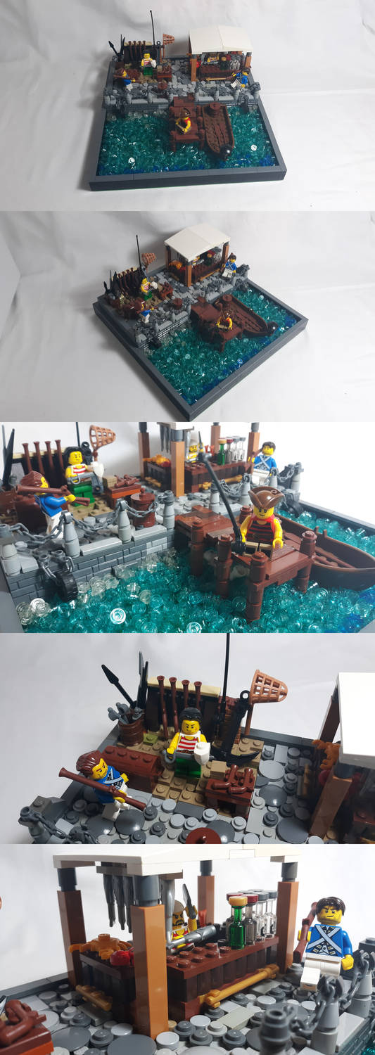 LEGO -  Sea Port Market