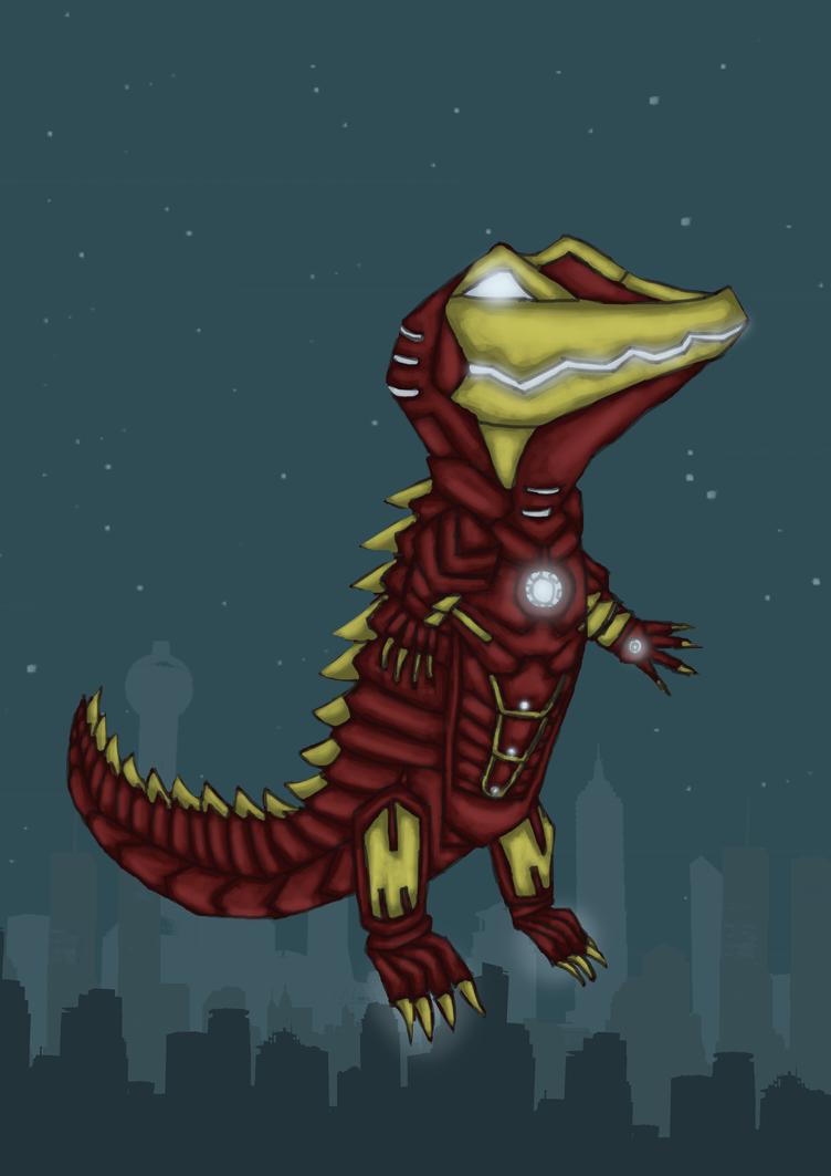 [CONTEST ENTRY] ANIMALIZE! - Iron Man (Croc) by Chimezombie