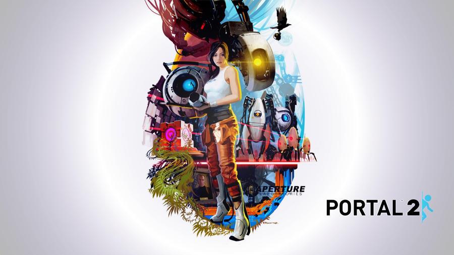 portal turret iphone wallpaper