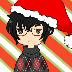 Persona 5 Christmas icon by NekoDesiree on DeviantArt