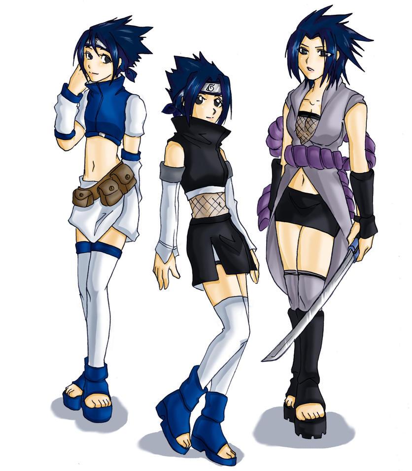Female sasuke by Virte