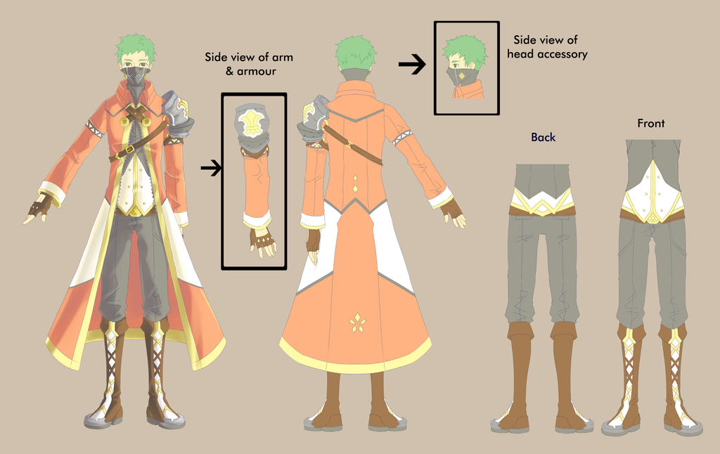 Male Outfit Design by Virte