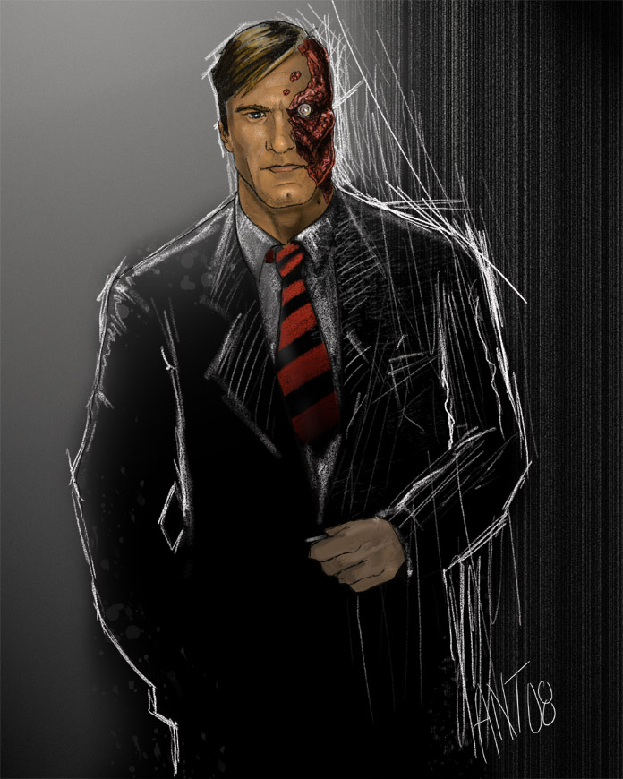 Two Face By Antmanx68