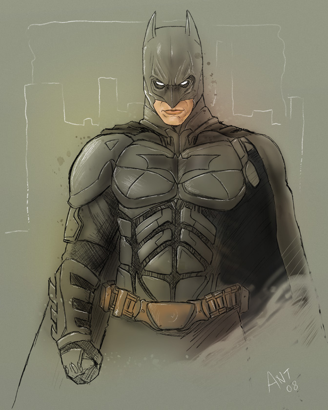 Dark Knight Batman by antmanx68