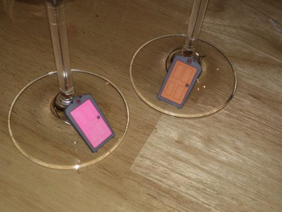 Monsters Inc Door Wine Charms by Sarika-Desai ... & Monsters Inc Door Wine Charms by Sarika-Desai on DeviantArt