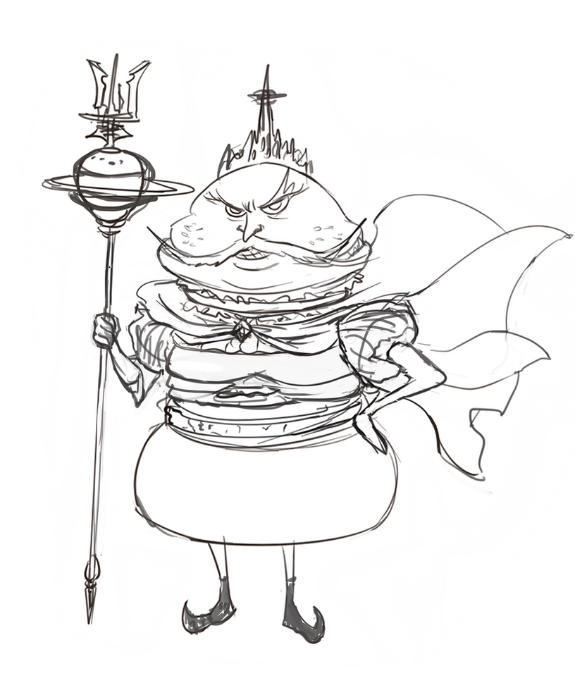Burger the king by 123lulala