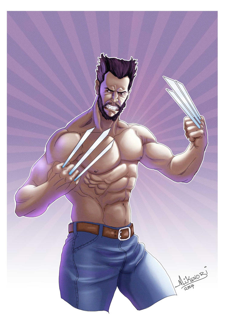Wolverine by mike-mikenobi
