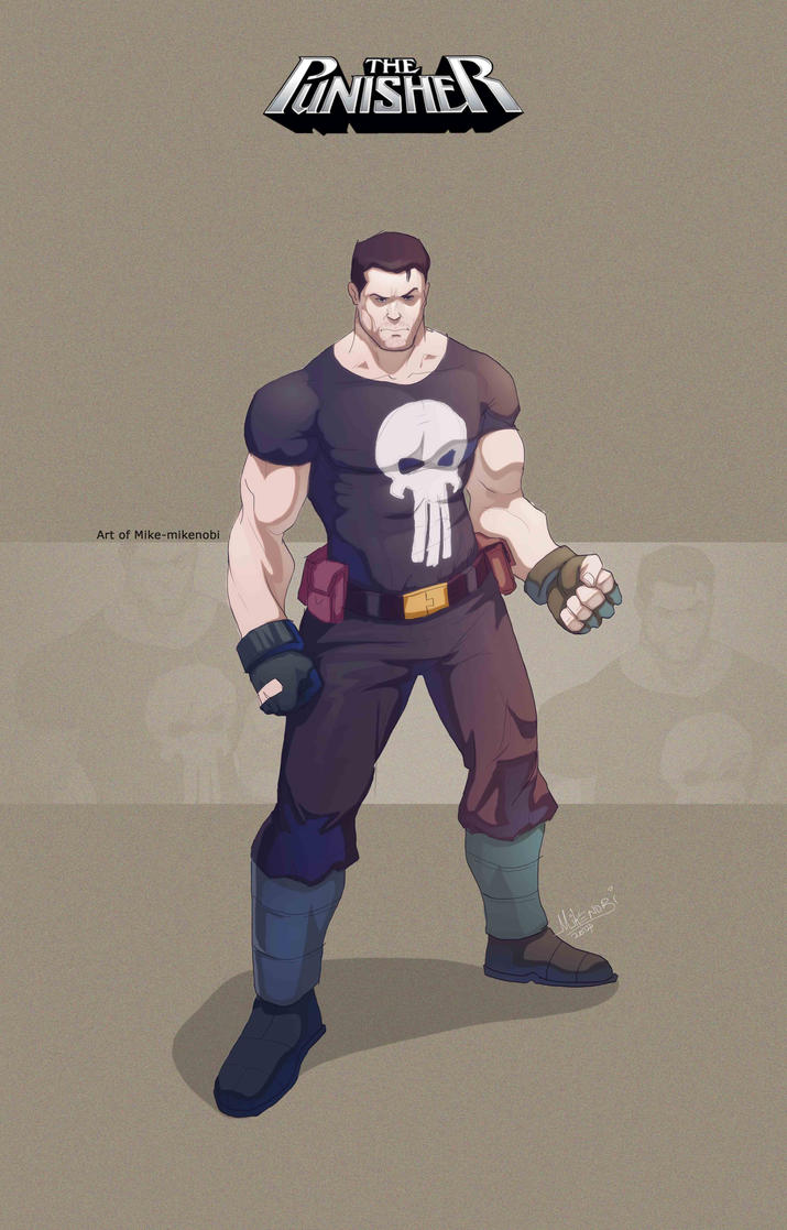 Punisher by mike-mikenobi