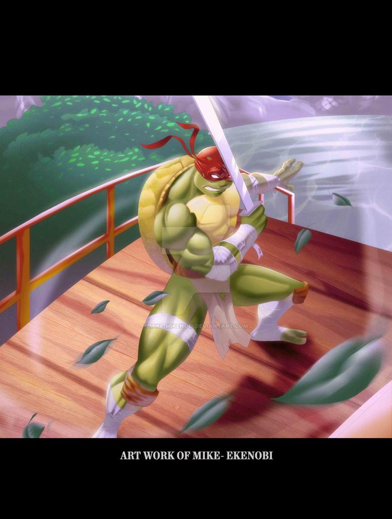 Ninja-turtle by mike-mikenobi