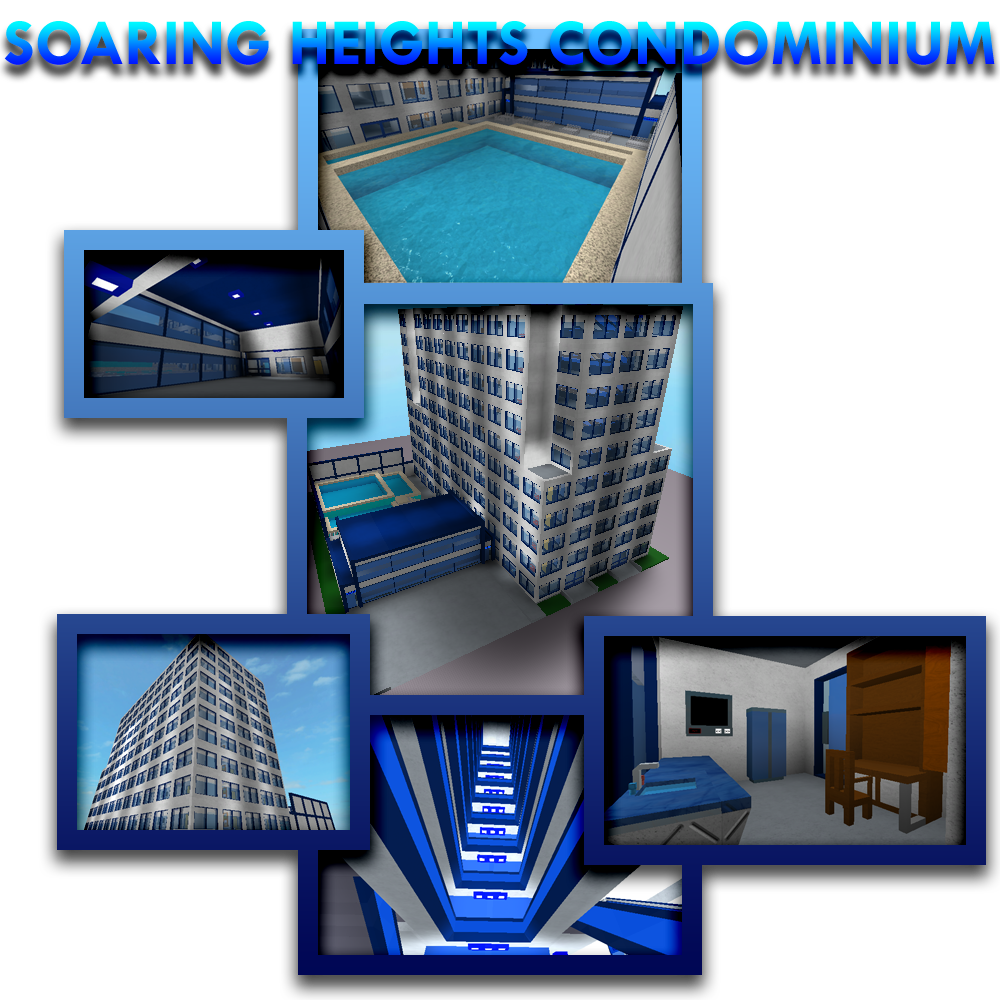 Roblox Model 604 -- Soaring Heights Condo By Skyblue2005