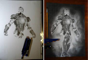 Iron Man by AntonioNT