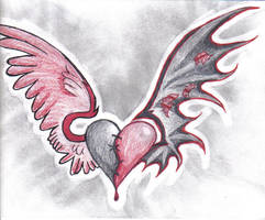 Heart Tattoo by ChrysmStone