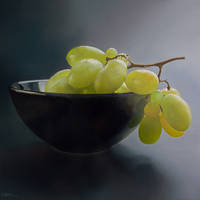 Still-Life With Grapes by Lefthand666