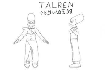 New OC - Talren by GJYYNGII
