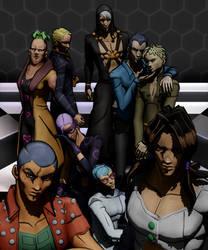 [MMD] The Hitman Team