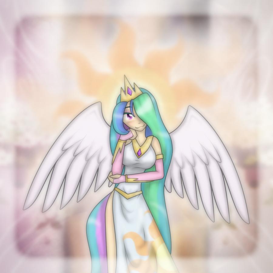 MLP: FiM - Celestia by Ihara on DeviantArt Celestia Mlp Human