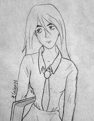 Terra school uniform sketch