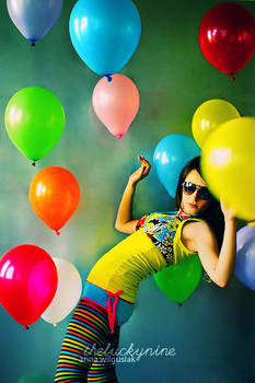 miss Ann on helium by theluckynine