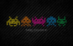hello TYPO-invaders by theluckynine