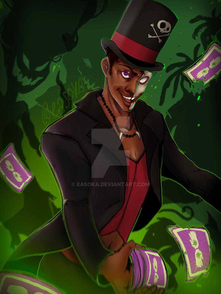 Voodoo man by Easoka
