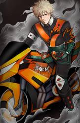 biker bakugou