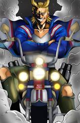 biker allmight