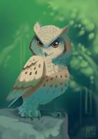 Owl by Natizilda