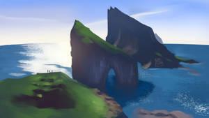 Island Landscape study