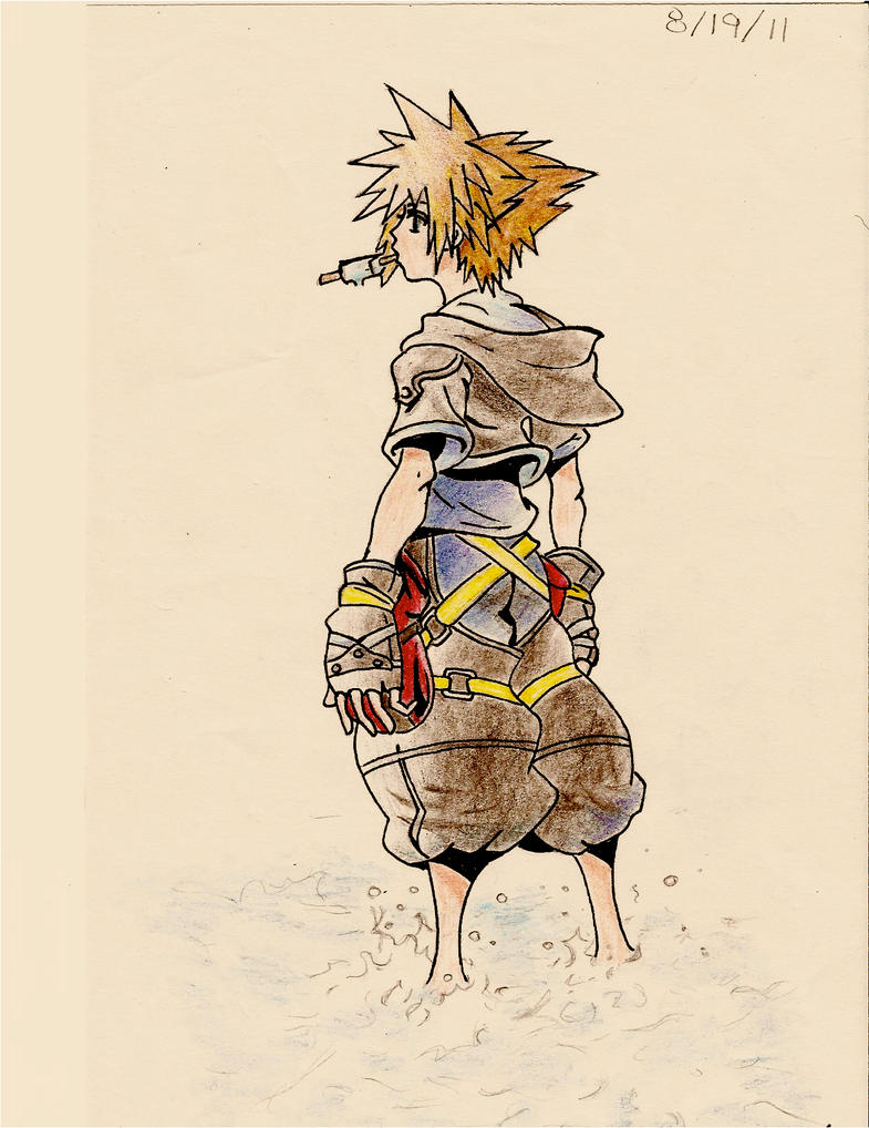 KH2 Sora by Kenna1997