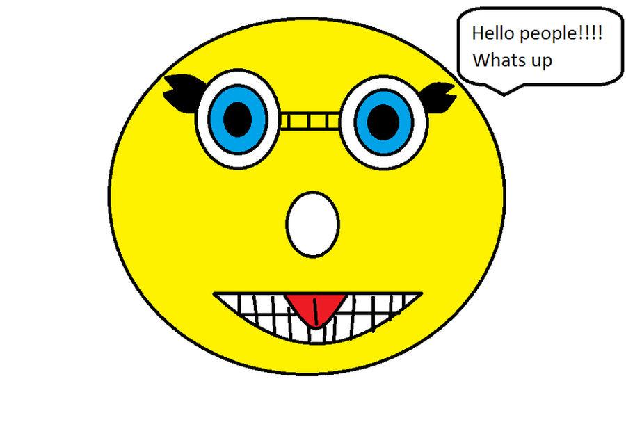 smiley face cartoons by soniathehedgehog246