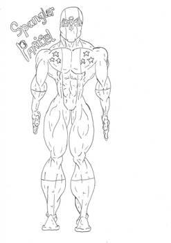 Spangler Drawn by Justin Hicks