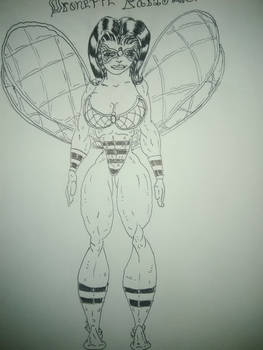Dronette Drawn by Justin Hicks