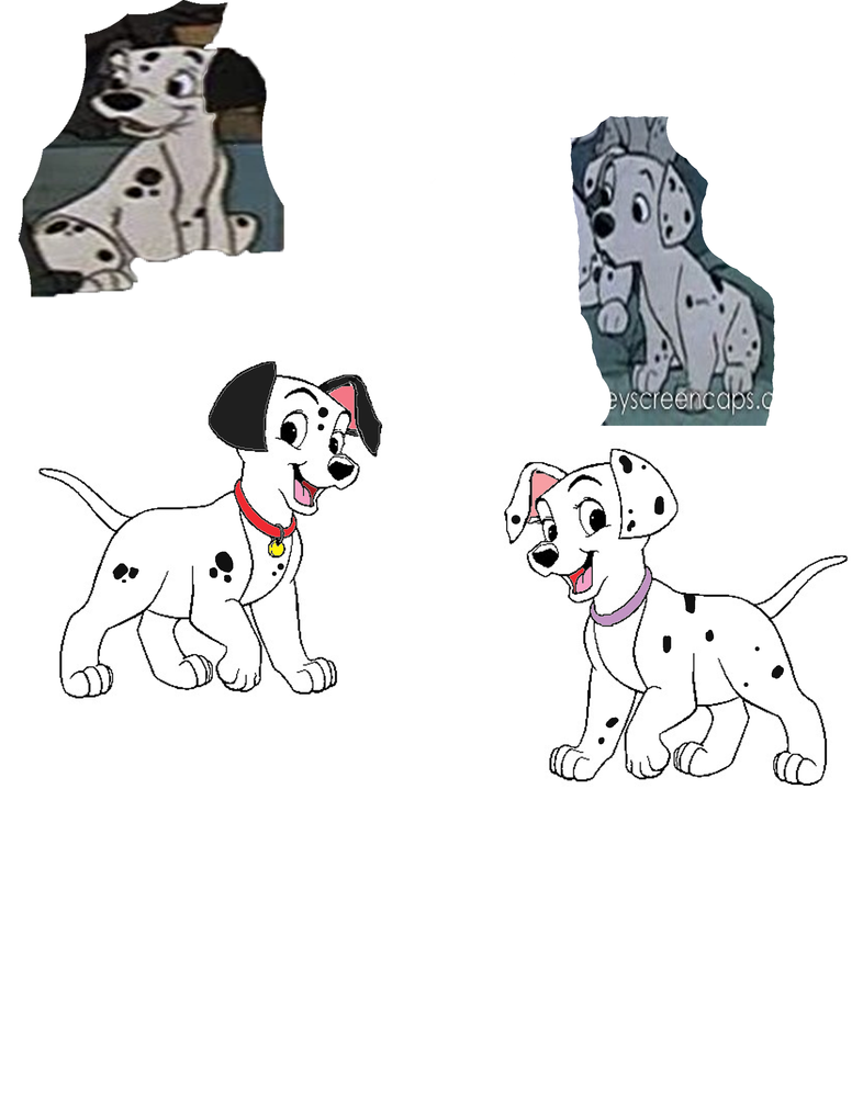 101 dalmatians OCs Nandi and Satta by LOST09 on DeviantArt Disney Characters Female Names