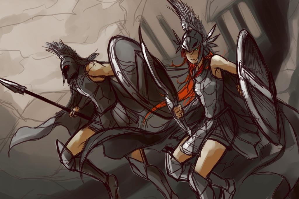 League of Legends - Stanpar !! Sketch by El-Seluvia