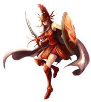League of Legends - Stanpar Leona !! by El-Seluvia