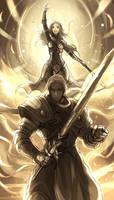 League of Legends - Garen / Lux by El-Seluvia