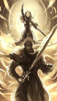 League of Legends - Garen / Lux