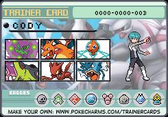 Cody by pokemontrainerjay