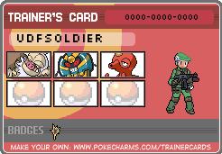 Unova Defense Force trainer. by pokemontrainerjay