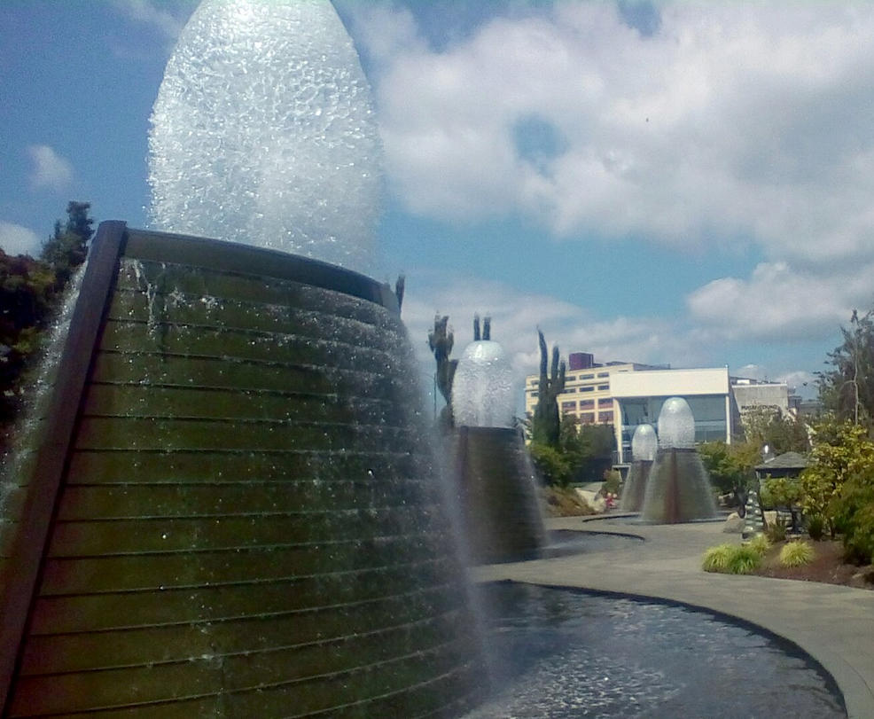 Bremerton Harborside fountain park by pokemontrainerjay