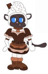 Siamese Chocolate Milk Kitty Cat OC Gift