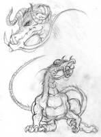 shouting dragon
