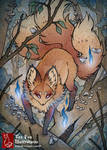 Fox of the Hollow by TeaKitsune