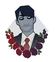 Darkiplier Sticker by TerritorialRain