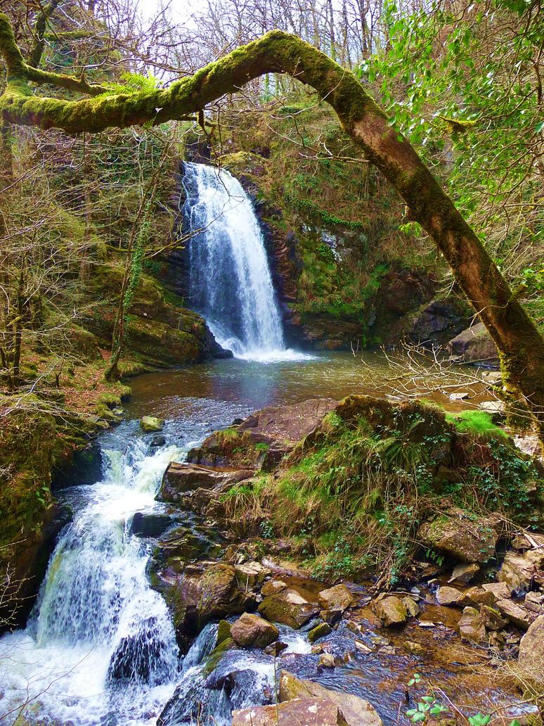 Grande cascade de Murel by Eliann