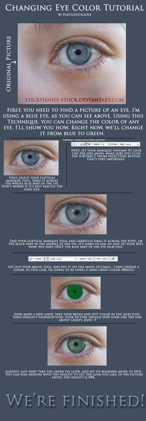 Changing Eye Color Tutorial